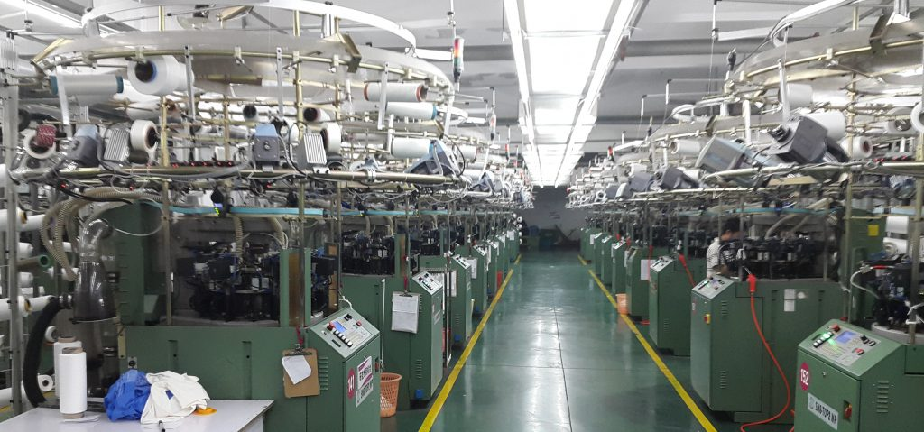Strickproduktion