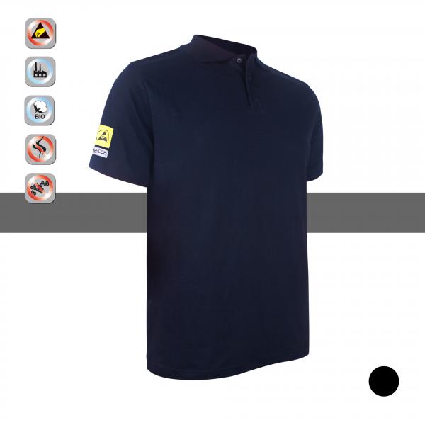 SIMLOC Carbon Line ESD Polo Shirt